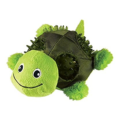 KONG Shells Bear Dog Toy, Small 1