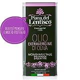 5 litri - Olio extravergine di oliva OGLIAROLA SALENTINA - 100% italiano - olio evo ottimo fruttato gusto INTENSO