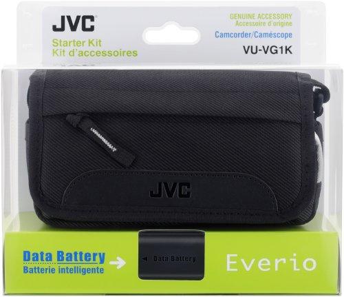 JVC VU-VG1KEU Starter-Kit (Akku BN-VG114, Tasche CB-VM15) für Camcorder