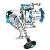 T-best Spinning Fishing Reel, Links/Rechts austauschbar Spinning Rollen 7+ 1BB High Speed Metallic Casting Spinning Sea Fischerei Rollen Rad für Salz und Süßwasser Angeln