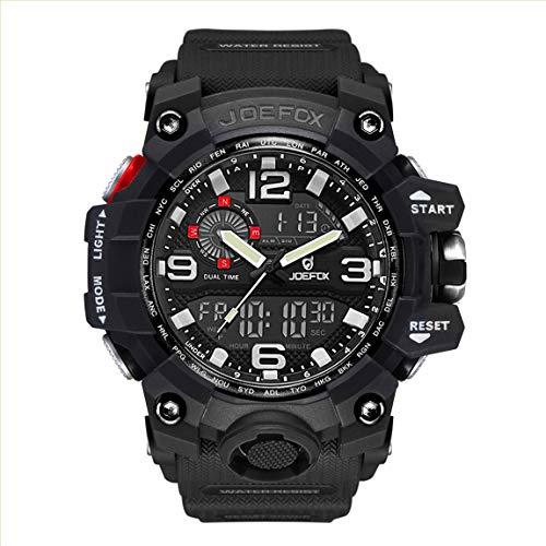 Reloj de Pulsera para Hombre, Militar, Digital, Deportivo, analógico, Digital, Esfera Grande, 56 mm...