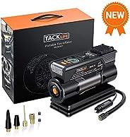 TACKLIFE M1 Compresor Aire Coche, 40L / Min Inflador Digital, 12V 150PSI Poco Ruido Compresor de Aire, Bomba E