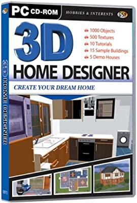 3D Home Designer DVD (PC) : everything five pounds (or less!)