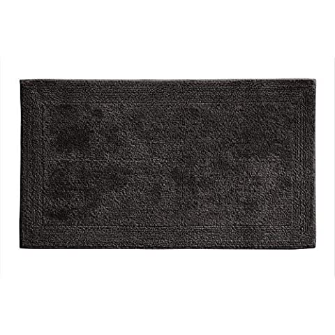 Grund Organic Cotton Bath Rug, Puro Series, 17-Inch by 24-Inch, Graphite by Grund Organic Cotton