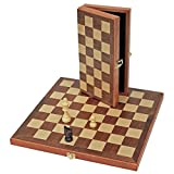 Royal Gangamani Fashions Wooden Magnetic Chess Board & Pieces Set (Rectangel (7.5x3.75 Inch))