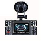 """Die besten Black Box Versteckte Cams - LKJCZ Mini Dash Cam, F30 2,7"""" HD Dual-Objektiv-Auto Bewertungen"""