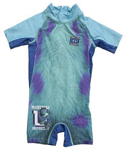 Jungen Monsters Inc SULLY Alles in Einem Taucheranzug Style Badeanzug größen 2 3 4 5 Jahre - Blau, 2 (Kinder Inc Für Monsters Kostüme)