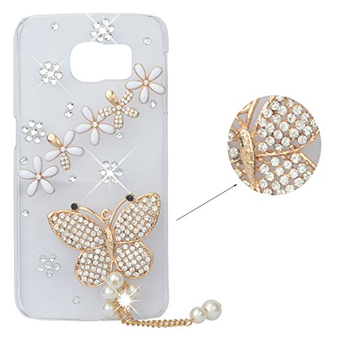 spritech-tm-3d-handmade-custodia-trasparente-lucido-sparkle-strass-fiori-farfalla-tassel-decor-custo