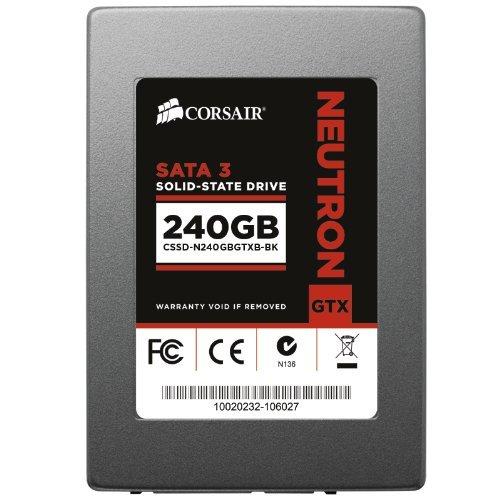 Corsair Memory CSSD-N240GBGTXB-BK interne SSD 240GB (6,3 cm (2,5 Zoll), SATA III) grau