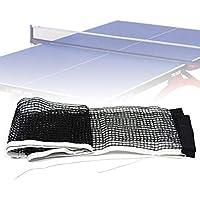 fervory Red De Ping Pong Repuesto 180cm 15cm Cuerda Encerada Tabla De Sustitución De Tenis De Mesa De Ping-Pong Net