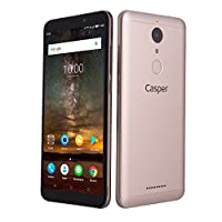 Casper Via G1 Akıllı Telefon, 32 GB, Altın (Casper Türkiye Garantili)