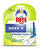 WC Ente Frische Siegel Starter-Set (inkl. 1 Nachfüller), körbchenloser WC Spüler, bis zu 8 Wochen, Limone Duft, 1er Pack (1 x 36 ml)