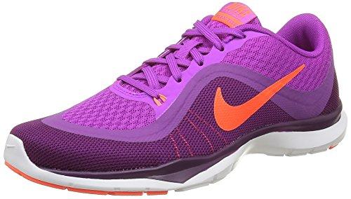 Nike Flex Trainer, Fitness Femme Violet (Hyper Volt/Totalcrimson Cosmic Purple B)