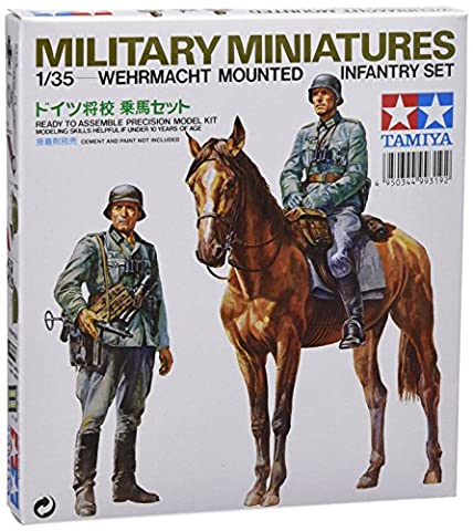 German Mounted Infantry Set - 1:35 Scale Military - Tamiya