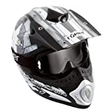 Römer Starcross Motorradhelm Motocross/MX, Schwarz/Silber, Größe L