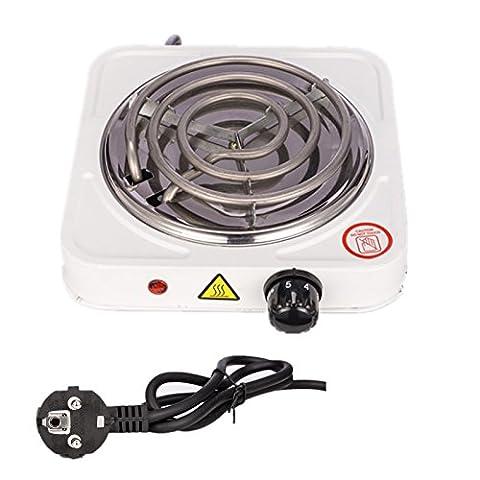 Ectxo Elektrischer Kohleanzünder Shishakohle 1000W Heizplatte Brenner E-Heater