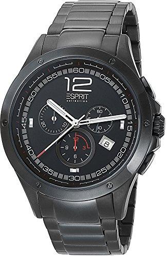 Esprit Collection para hombre-reloj cronógrafo de cuarzo acero inoxidable Atropos EL101421F08