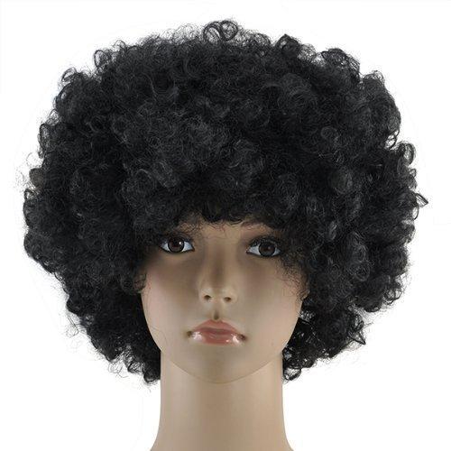 Accessotech-boucl-Dguisement-Afro-Perruques-Funky-Disco-Clown-Style-Pour-HommesFemmes-dguisement-70s-Cheveux
