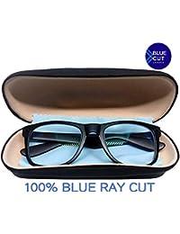 Metrovision Blue Ray Cut UV400 unisex Wayfarer Spectacle