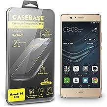 CaseBase® La Película Protectora para la Pantalla de Vidrio Templado - Paquete de Dos para Huawei P9 LITE