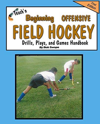 Teach'n Beginning Offensive Field Hockey Drills, Plays, and Games Free Flow Handbook por Bob Swope