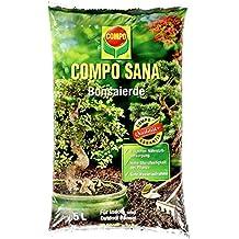 Compo Sana–® Bonsai Tierra, tierra especial para todas las habitaciones de alta calidad y jardines. Bonsai, 5L