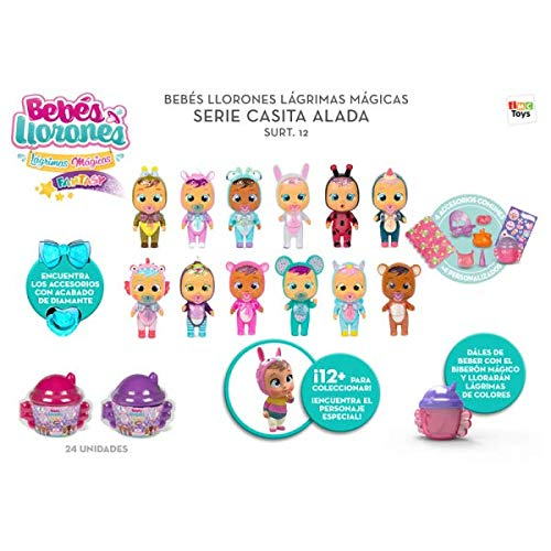 IMC Toys Cry Babies Magic Tears Casetta Alata, 90378