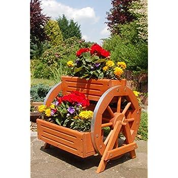 Pflanzentreppe Pflanzregal Blumenständer Blumentreppe Holz Blumenregal