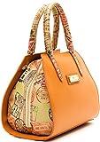Borsa Bauletto Tracolla Donna Cuoio Beige Medio Alviero Martini Bag Woman Leather Beige Medium RIOD117D004B
