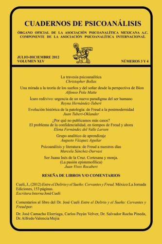 CUADERNOS DE PSICOANÁLISIS, JULIO-DICIEMBRE 2012 vol XLV, núms. 3 y 4