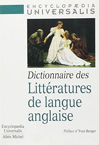 Dictionnaire des littératures de langue anglaise par Collectif