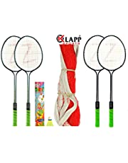 Klapp Zigma Steel Badminton Set White