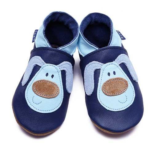 Inch Blue - 1349 L - Chaussures Bébé Souples - Mucky Puppy - Bleu Marine - T 20-22 cm - 12-18 mois