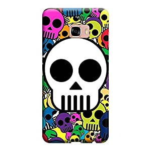 Skintice Designer Back Cover with direct 3D sublimation printing for Samsung Galaxy C7