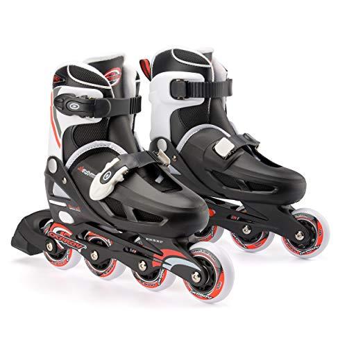 Osprey Kinder Inline Skates für Jungen und Mädchen, Verstellbare Rollschuhe