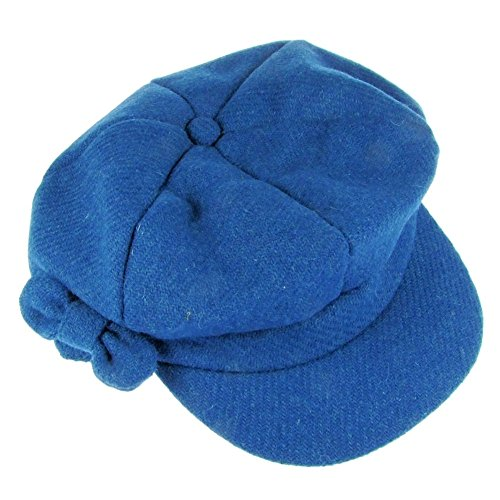 Harriet Tweed Bakerboy Damen Mütze Blaugrün (b939tea)