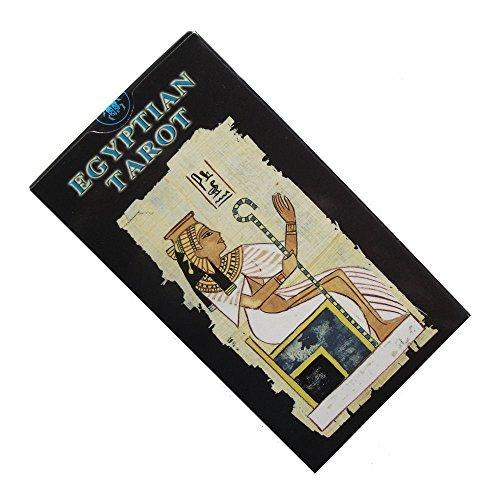Baraja Egyptian Tarot por Silvana Alasia, Mazo de 78 cartas de Tarot E