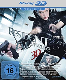 Resident Evil: Afterlife 3D (Premium Edition) [Blu-ray 3D]