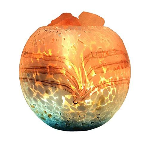 Nanle Réglable Sel Lampe Nature Rose Cristal Rock Lumière Améliorer la Qualité de L'air Soulager Stress Sécurité Nuit Lampe pour Chambre Bureau Spa Salle de Yoga