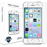 Tech Armor Apple iPhone 5/5c/5s/SE Premium Ballistic Glass Screen Protector Protect Your Screen from Scratches and Drops
