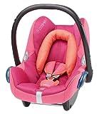 Maxi-Cosi Cabriofix Babyschale Gruppe 0+ (0-13 kg), Kollektion 2014, spicy pink