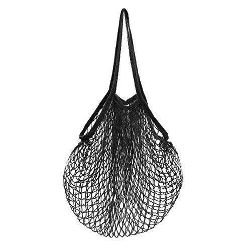 LQZ(TM) Einkaufsnetz Gemüsebeutel Obstbeutel Kartoffelsack Netztasche Netzbeutel aus Bio-Baumwollschnur
