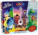 Disney 3 CD-Box - Arlo&Spot, Alles steht Kopf, Coco