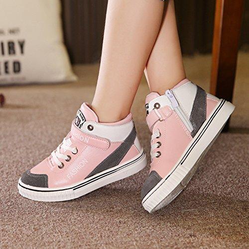 XTIAN , Baskets pour fille rose bonbon