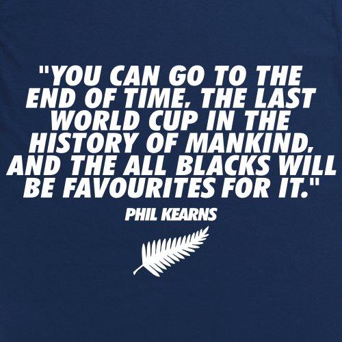 Phil Kearns Quote T-Shirt, Herren Dunkelblau