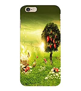 ColourCraft Beautiful Scenery Design Back Case Cover for APPLE IPHONE 6S PLUS