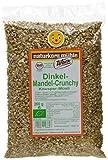 Werz Dinkel-Vollkorn-Mandel-Crunchy mit Reissirup, 3er Pack (3 x 250 g Packung) - Bio