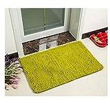 Lucky store Starker Rutschfester saugfähiger Teppichbadezimmer-Toilettenfoyer 0.5 * 0.6M, Grasgrün