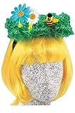 Andrea-Moden Gras-Haarreif Haarreif für Käferchen Käfer Kostüm Zubehör
