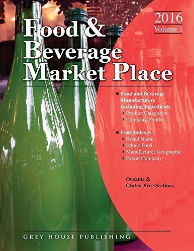 Food & Beverage Market Place: 3 Volume Set, 2016: 3 Volume Set - Print Purchase Includes 1 Year Free Online Access (Food and Beverage Market Place) by Laura Mars (2015-08-01)